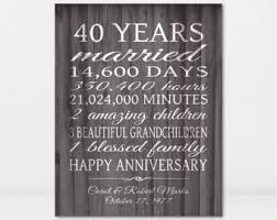 40 anniversary gift gift for parents anniversary spouse anniversary gift quotes