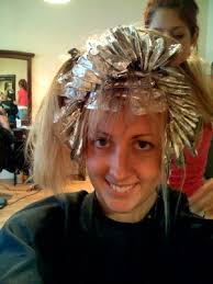 where to place foils in hair hairstyle makmbut blonde hair with foils