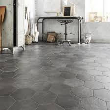 carrelage cuisine sol leroy merlin carrelage sol et mur anthracite effet béton l 21 x l 18 cm