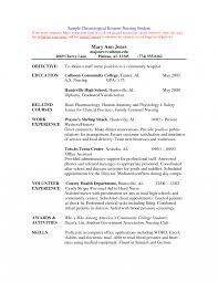 nursing student resume for internship resume cover letter sle for nurse practitioner position nursing