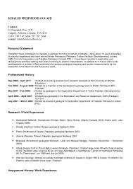 Best Teaching Resume by Wellsite Geologist Resume Resume For Your Job Application