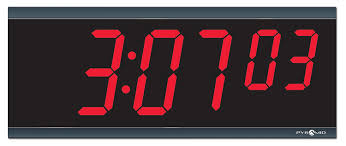 ivation clock amazon com pyramid extra large 4
