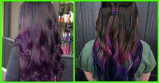 coloring over ombre hair 20 breathtaking purple ombre hair color ideas