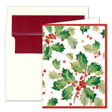 caspari cards caspari personalized gilded christmas cards paperstyle