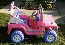 barbie jeep power wheels 90s 90s jeep