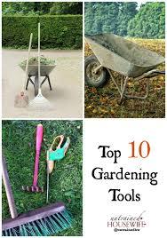 top 10 gardening tools