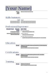skill resume format resume format word file cv format for word standard resume format