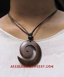 wooden necklaces organic wooden necklaces handmade from bali indonesia jewelry