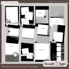 4x6 photo book 7 best mini album template images on mini albums mini
