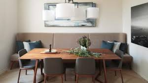 Dining Room Wonderful Booth Seating Interior Design For Banquette Dining Set Room Contemporary With Of