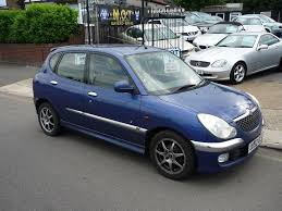 used 2002 daihatsu sirion 1 3 rally 2 5dr for sale in middlesex