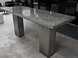 concrete top bar table tables ernsdorf design concrete fire pit bowls furniture and art