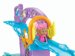 amazon fisher price bubble guppies rock roll stage toys
