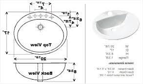 standard mirror sizes for bathrooms bathroom sink drain hole size comfortable standard size bathroom