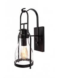 Lantern Wall Sconce Electric Oil Lamp
