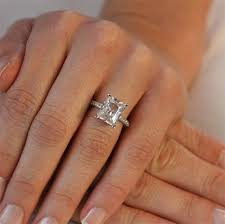 radiant cut engagement ring radiant cut diamond rings wedding radiant cut