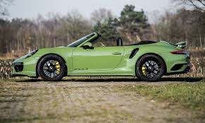 porsche truck 2004 porsche 911 turbo s cabriolet by edo competition is green with envy