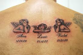 cupid cherub tattoo designs on upper back tattoos book 65 000