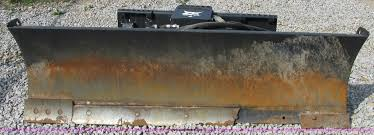 2009 bobcat 80 skid steer dozer blade item f5287 sold o