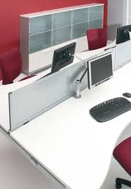 Office Desk Divider by Desk Mounted Screens Claremont Office Interiors Office