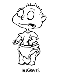 coloring page s free printable rugrats coloring pages for kids