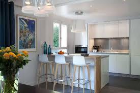 cuisine ouverte avec comptoir cuisine avec bar comptoir fashion designs
