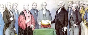 George Washingtons Cabinet The Constitution And The Inauguration Of The President
