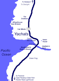 map of oregon house area map sea nik vacation home rentals yachats central oregon