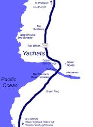 area map sea nik vacation home rentals yachats central oregon