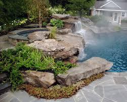 photo of rock backyard landscaping ideas landscaping ideas nj