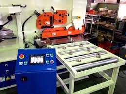 cnc plate shear eliminates manual layout