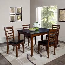black granite top dining table set granite top dining table set full image for