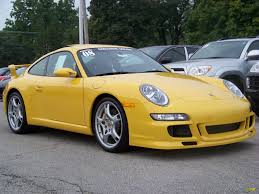 yellow porsche 911 2008 porsche 911 carrera s coupe in speed yellow 730625