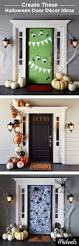 Halloween Skeleton Decoration Ideas Top 25 Best Halloween Door Decorations Ideas On Pinterest