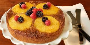 fresh pineapple upside down cake dole com