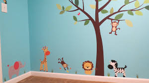Nursery Decals For Walls by How To Install Fabric Wall Decals Youtube