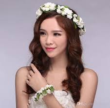 wedding bridal headdress bridal hair accessories color