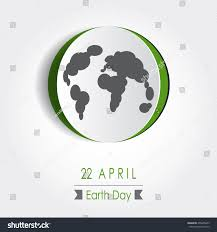 Concept Map Template Vector Earth Day Poster Design Save Stock Vector 405605623