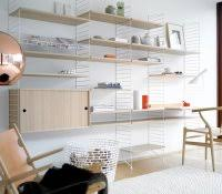 how to make storage shelves decorative wall for living room string