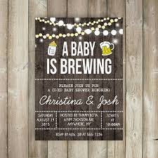 a baby is brewing a baby is brewing baby shower invitation co ed baby shower invite