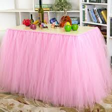 how to use tulle to decorate a table aliexpress com buy 2 size baby shower table decorations tulle