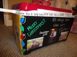 cooler christmas present for him the pictures on it is so cute