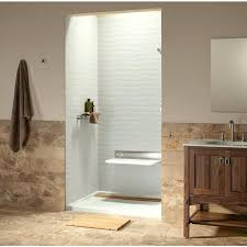 bathroom surround ideas shower wall material options acrylic tub surround panels solid