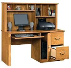 Tall Computer Desk With Shelves Tall Computer Desk Tall And Sleek Workstation Tucks Away Desktop