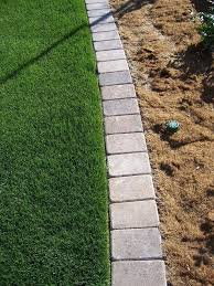 outstanding flower bed paver edging 44 in modern house with flower