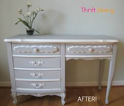 Sears Furniture Desks How To Paint Your Old French Provincial Furniture