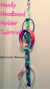headband holder handy headband holder tutorial optimistic