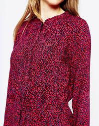 west village leopard dress by splendid aubergine