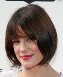 a slideshow of cool short brown hairdos