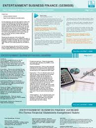 Pro Forma Financial Statements Excel Template Pro Form A Financial Statements Assignment Depreciation Expense
